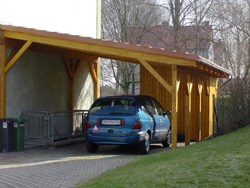 carport schaumburg informationen zu carports von zimmerei weihmann aus schaumburg. Black Bedroom Furniture Sets. Home Design Ideas
